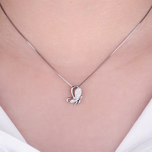 925 Sterling Silver Butterfly Pendant Without Chain