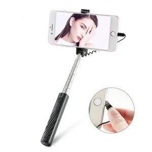 Mini Wired Selfie Stick For iPhone