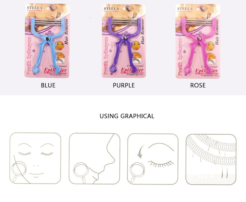 Simple and Practical Female Facial Hair Removal Shaving Makeup Thread Tool