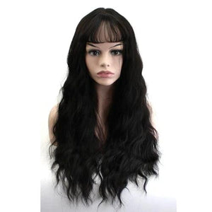 Ultra-Thin Long Curly Hair Synthetic Wigs