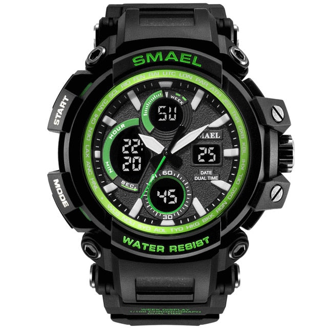 Waterproof Digital Electronic Casual Military Wrist Kids Sports Watch