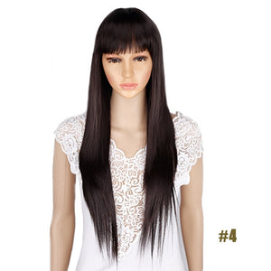 Synthetic Hair Wigs with Long Straight Cosplay