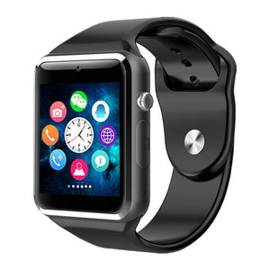 Bluetooth Digital Wrist Sport Watch SIM Card Phone With Camera