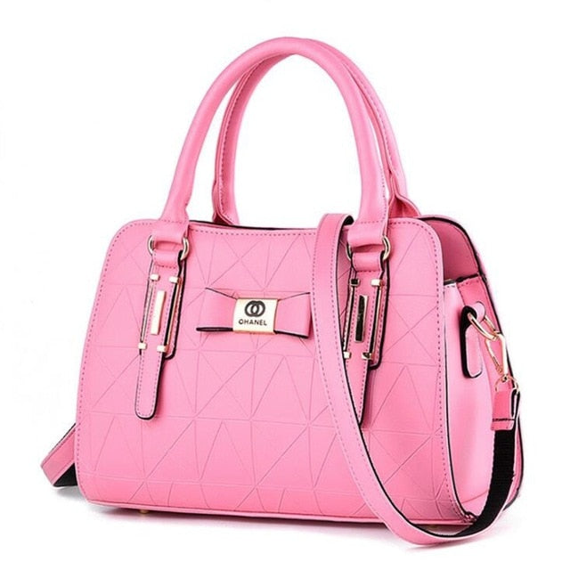 New Arrival Luxury Fashion PU Leather Women Shoulder Handbag