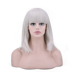 Short Wig Synthetic With High Temperature Hair