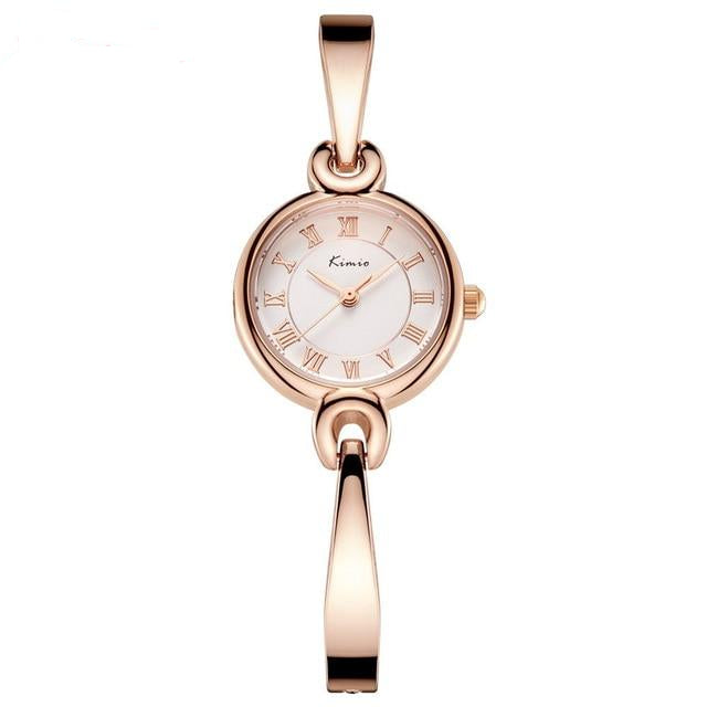 New Bracelet Type With Waterproof Watch For Women