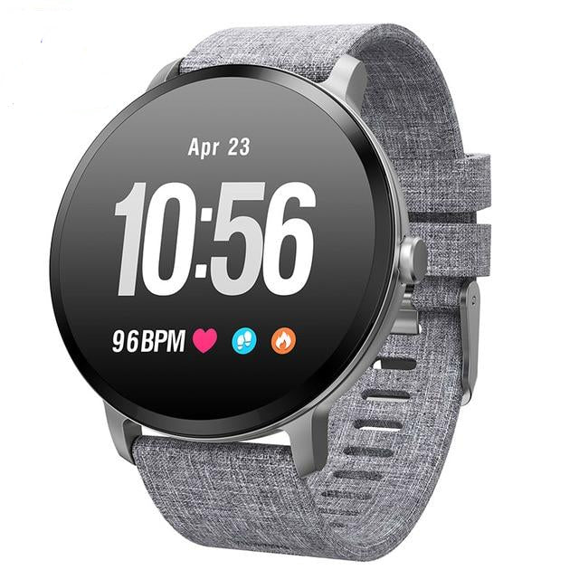 Smart Watch with Blood Pressure Heart Rate Monitor Sports Band for IOS & Android