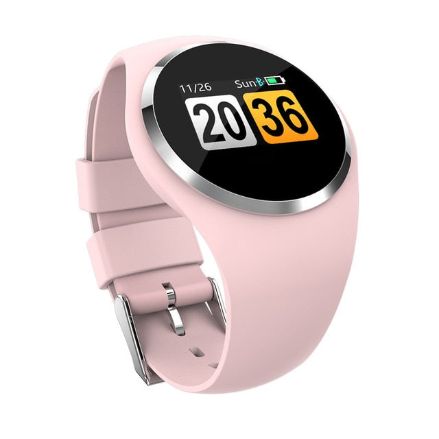 Unisex Smart Watch With Blood Pressure Monitor Android iOS Supported