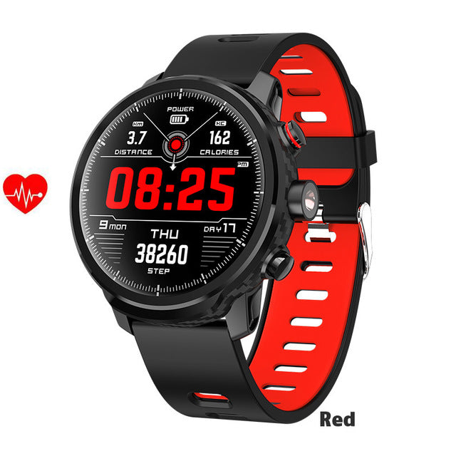 Waterproof Heart Rate Fitness Tracker Message Call Reminder Weather Multiple Sport Smart watch