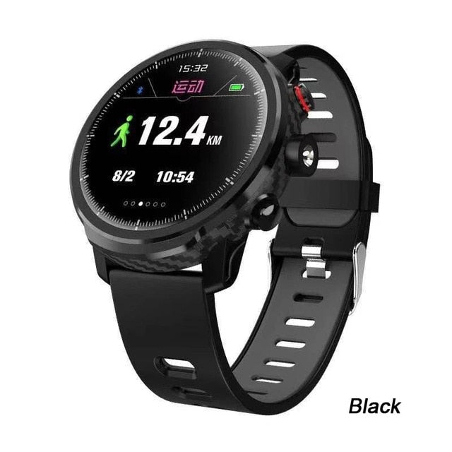 Waterproof Heart Rate Fitness Tracker Message Call Reminder Weather Sports Smart Watch