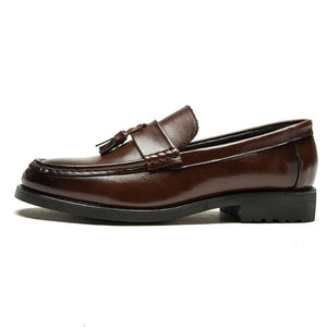 Men Flats Leather Oxfords Formal Shoes