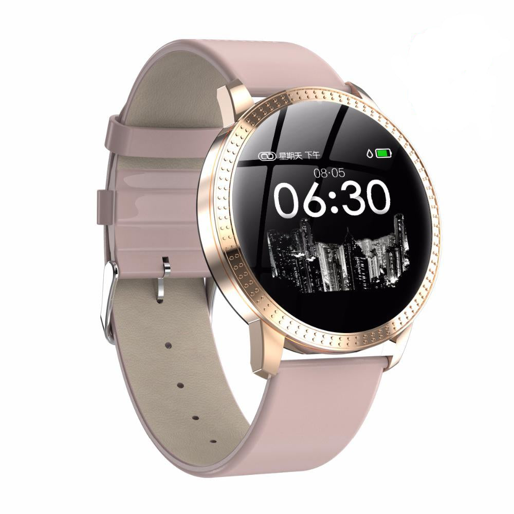 Intelligent Touch Heart Rate Monitor Bluetooth Smart Watch For Women