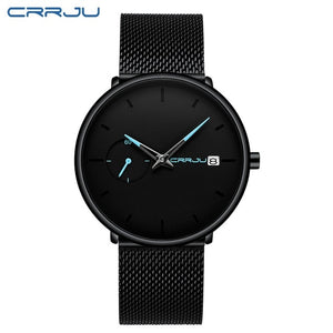 Men's Fashion Casual Date Watches