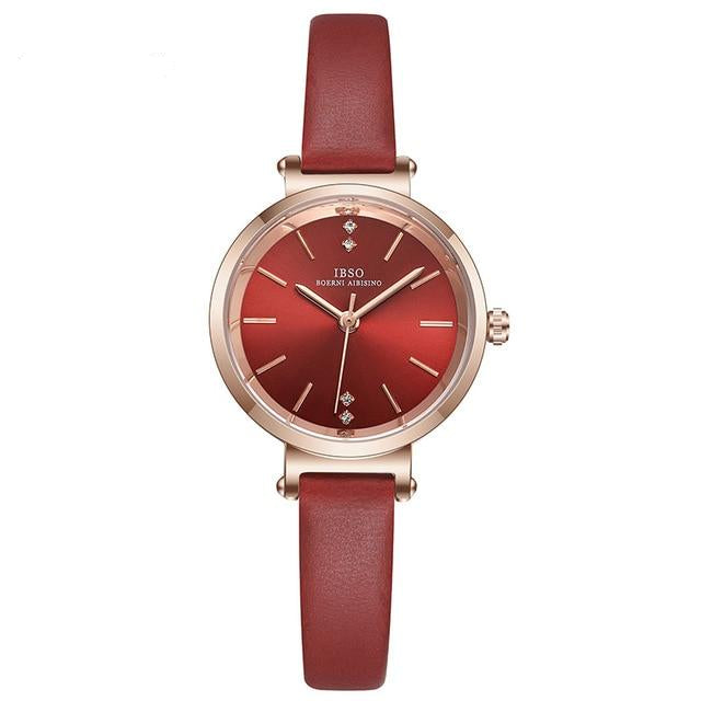 Ultra-Thin Luxury Wrist Watches For Women