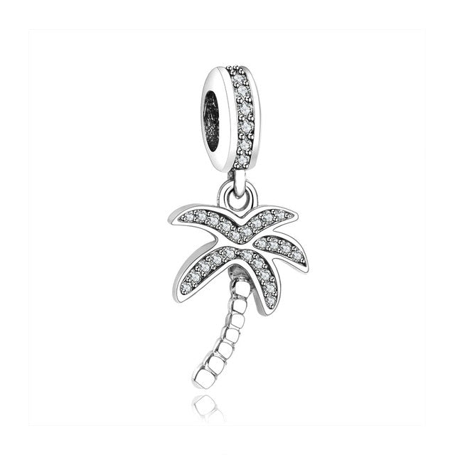 New Spring 925 Sterling Silver Pendant With Original Pandora Charm Necklace For Women
