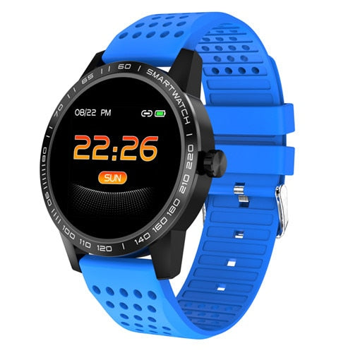 T2 Waterproof Blood Pressure Fitness Tracker Call Reminder Sleep Monitor Smart Watch