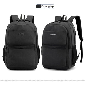 School Bag Waterproof Nylon Computer Business Backpack