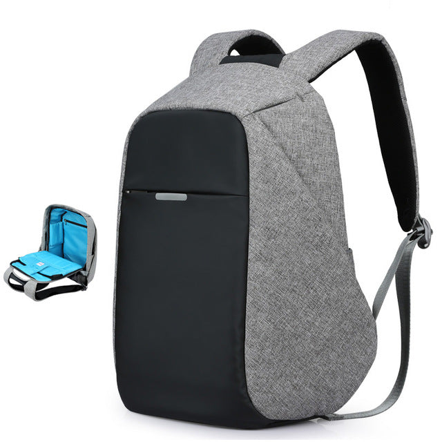 New Trend Unisex Backpack With USB Charger