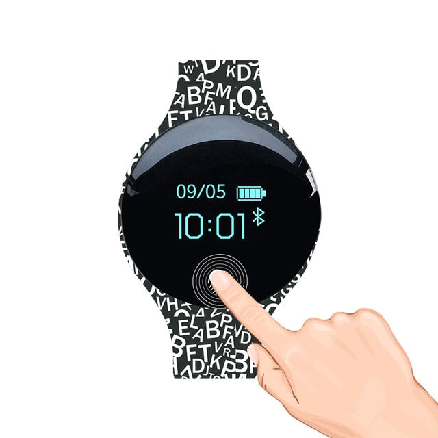 Touch Screen Motion detection Smart Watch