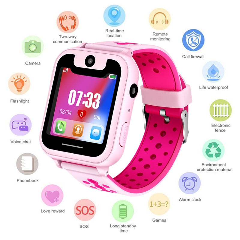 New Smart Watch SOS Call Location Finder & Tracker