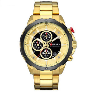 Top Brand Luxury Chronograph Clock