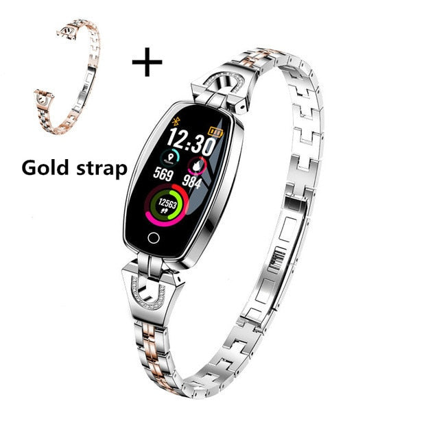 Sport Smart Watch For Women Fashion & Heart Rate Monitor Watches For IOS Android