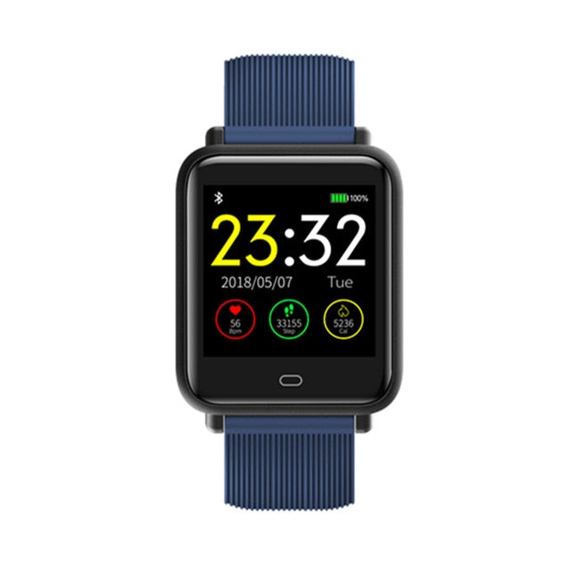 Smart Sports Unisex Watch With Heart Rate Waterproof