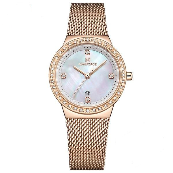 New Women Luxury Brand Watch With Simple Waterproof Casual Wristwatch For Women