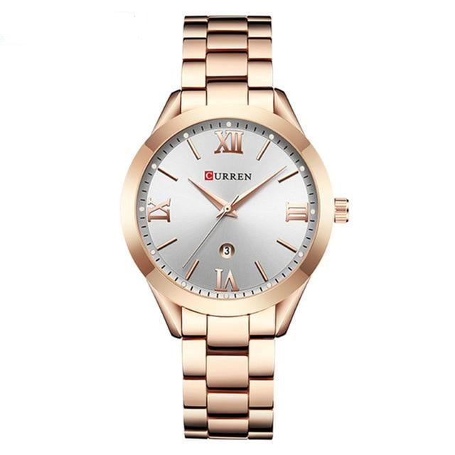 Rose Gold Watch For Women With Top Brand Luxury Wrist Watch