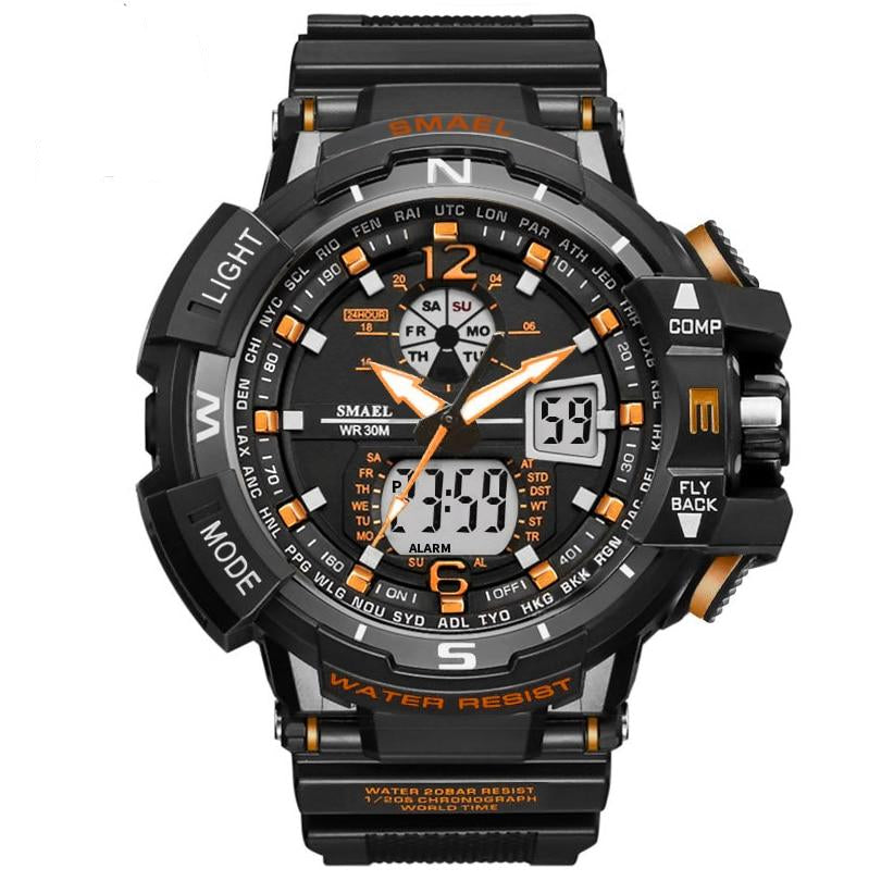 Male LED Digital Quartz Wrist Watches