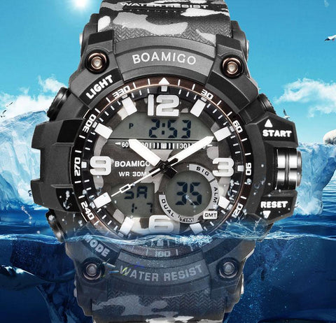 Men Sport Military Army Watches