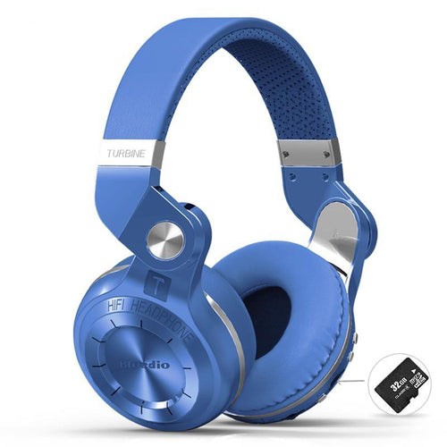 Foldable Bluetooth Headphones with FM and SD Card Support