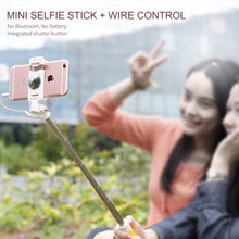 Load image into Gallery viewer, Universal Mini Selfie Stick for IOS/Android