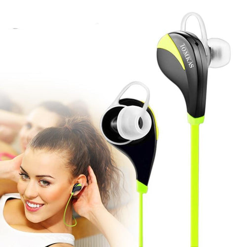 Bluetooth 4.0 Wireless Sport Earphone with Mic for iPhone