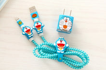 Load image into Gallery viewer, Cartoon USB Cable Protector Set - ElectroCat