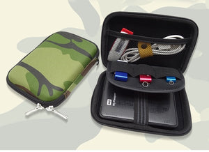 Military Camo Carry Case Protective Bag For Universal Items