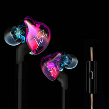 Load image into Gallery viewer, Colorful BA+DD In Ear Earphones HIFI Bass with Mic