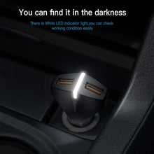 Load image into Gallery viewer, Baseus Quick Charge 3.0 Dual USB Port Car Charger - ElectroCat
