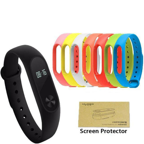 XIAOMI MI BAND 2 Fitness Waterproof Smartwatch OLED For IOS/Android Smartphone