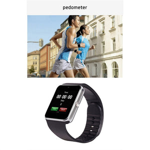 GT08 Bluetooth Smartwatch with SIM Slot 2.0MP Camera For IOS/Android Smartphone