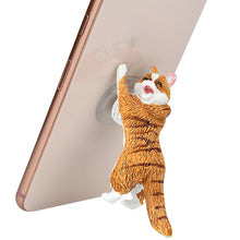 Load image into Gallery viewer, Cute Cat Plug Sucker Stand For Smartphone/Iphone - ElectroCat