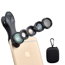 Load image into Gallery viewer, Ulanzi 5in1 Lens Kit For Smartphones And Iphone - ElectroCat