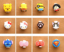 Load image into Gallery viewer, Cartoon Characters Cable Protector for Earphone and Charger Wires - ElectroCat