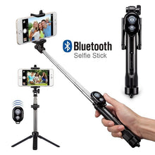 Load image into Gallery viewer, JOYTOP Foldable Bluetooth Tripod Bluetooth Selfie Stick - ElectroCat