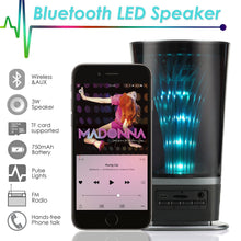 Load image into Gallery viewer, LED Light Portable Bluetooth Speaker Wireless