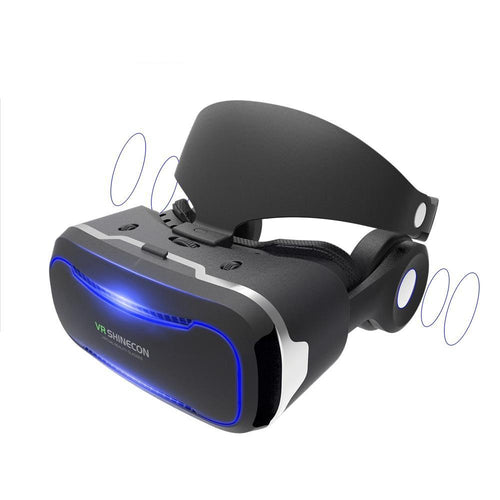 VR SHINECON Goggles With Headphones - ElectroCat