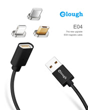 Load image into Gallery viewer, Elough E04 Magnetic USB Cable Micro Usb Type C Smartphones And iPhone - ElectroCat