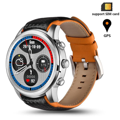 LEMFO LEM5 Waterproof Smartwatch with GPS Android 5.1 For IOS/Android Smartphone