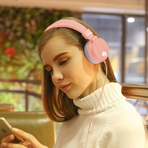 Wired Adjustable Headphones