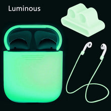 Load image into Gallery viewer, Luminous White AirPods Protection Case - ElectroCat